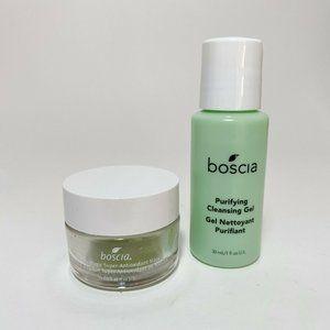 DUO Boscia Purifying Cleansing Gel & Matcha Super